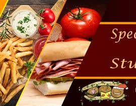 #54 for Create a catchy restaurant banner for students by ubaid92