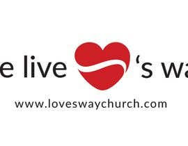 #8 for vector pdf file  for a church - needs to say: Live Life ❤️'s Way   At the bottom edge of the decal and smaller it needs to say: www.loveswaychurch.com Can be circle or oval / sideways oval might look good? Not sure of colors ?Just heart needs to be red. af CIVIL08