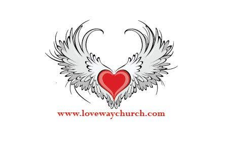 Proposition n°4 du concours vector pdf file  for a church - needs to say: Live Life ❤️'s Way   At the bottom edge of the decal and smaller it needs to say: www.loveswaychurch.com Can be circle or oval / sideways oval might look good? Not sure of colors ?Just heart needs to be red.