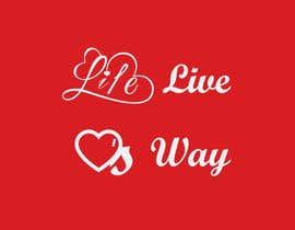 nº 3 pour vector pdf file  for a church - needs to say: Live Life ❤️'s Way   At the bottom edge of the decal and smaller it needs to say: www.loveswaychurch.com Can be circle or oval / sideways oval might look good? Not sure of colors ?Just heart needs to be red. par jakirhossain9246