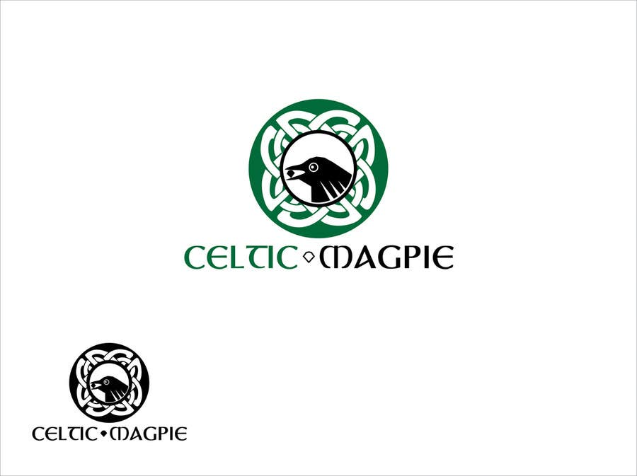 Inscrição nº                                         29                                      do Concurso para                                         Graphic Design for Logo for Online Jewellery Site - Celtic Magpie