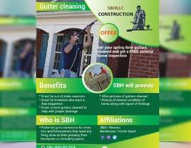 """Nro 63 kilpailuun 8 1/2"""" X 11"""" - Flyer - Gutter Cleaning käyttäjältä rasselrana"""