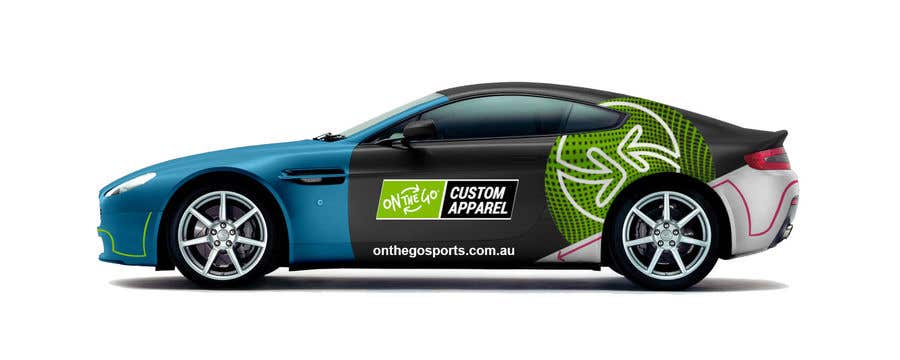 Entry By TheFaisal For Promotional Signage For Aston Martin - Aston martin apparel
