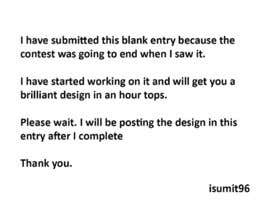 isumit96 tarafından CV Design Form, için no 10