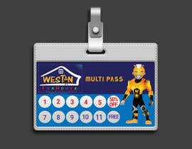 #16 for Design and Print a 1) Loyalty Pass (Membership Pass) and 2) Multi Pass for kids Indoor Playground Facility by tanveermh