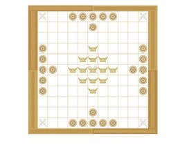 #5 for Design a board for a Viking board game called Hnefatafl by Yying