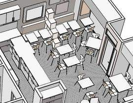 #1 for Design interior furniture layout for a coffeeshop and cake store by ronaaron2