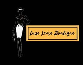 """#13 for My New Logo For My Clothing Business, it will also be the main page image so needs to be eye catching but simple. My business is called """"Luxe Lease Boutique"""" It is a clothing boutique,  For luxury designer dresses,  Favorite colors: Gold, Black & Red by ShahirahMarsuki"""