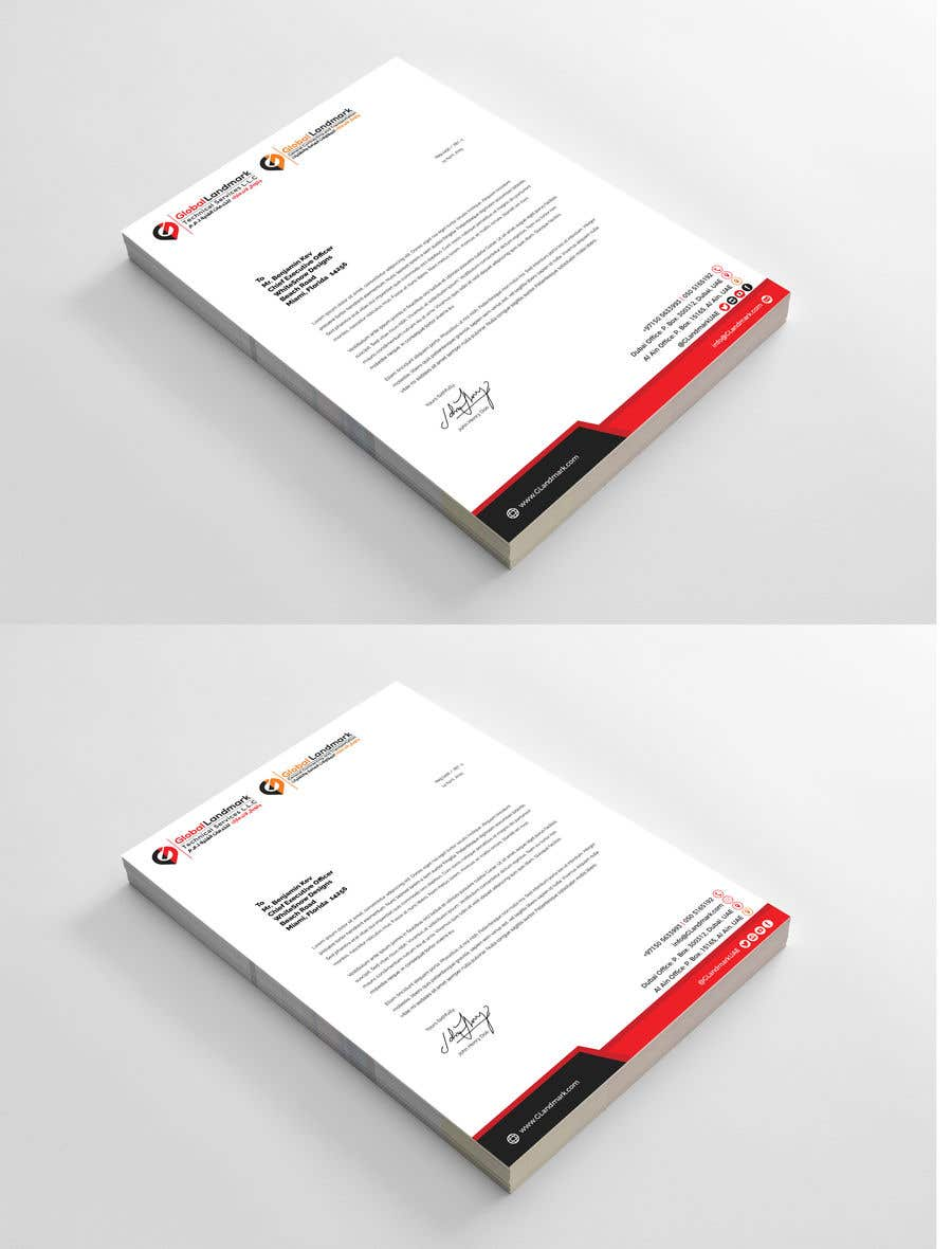 Entry 43 by mehfuz780 for letterhead design sample logos contest entry 43 for letterhead design sample logos attached spiritdancerdesigns Image collections