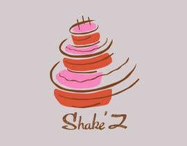 #6 for Simple logo for a small business called Shake'Z, colors chocolate and pink.   Its confectionery mostly focused on cakes. by mishalesiuk