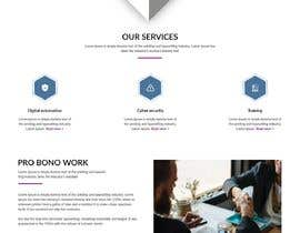 #7 for One page mockup for a website (landing page) by webmastersud