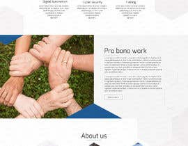 #46 for One page mockup for a website (landing page) by graphixtent