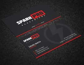 #411 for Design a business card for an electrical contractor by tmshovon