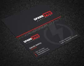 #419 for Design a business card for an electrical contractor by tmshovon
