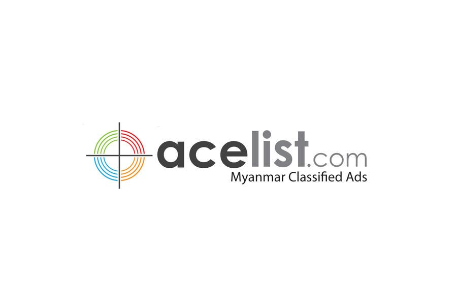Konkurrenceindlæg #                                        65                                      for                                         company logo icon with acelist.com and Myanmar classifieds ads text