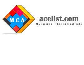 #71 for company logo icon with acelist.com and Myanmar classifieds ads text by shivamdixit1990