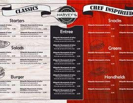 #12 for Experienced designer for American Restaurant Menu by LettersDi