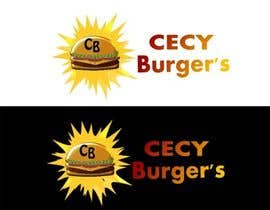 #27 for design of burguer place logo for CECY BURGUER´S by LuzIsabel4