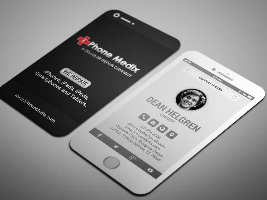 Konkurrenceindlæg #54 for BUSINESS CARD DESIGN/CELLPHONE & TABLET REPAIR -- 2