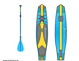 #8 for inflatable sup board Product Design. by HadjerCher