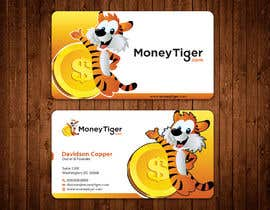 #133 for design business card for Money Tiger by aminur33