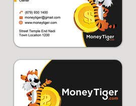 #184 for design business card for Money Tiger by skhamidulalam