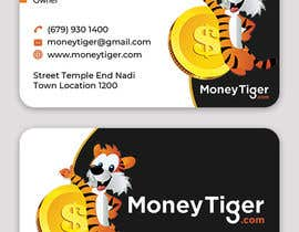 #190 for design business card for Money Tiger by skhamidulalam