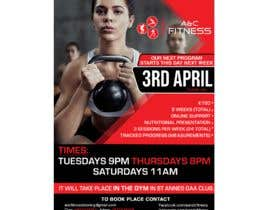 #8 for Fitness Program Poster by maidang34