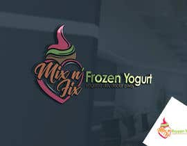 #81 for Logo: Mix n' Fix Yo or Mix n' Fix (Frozen Yogurt) brand. by fakefukra