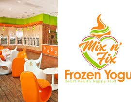 #343 for Logo: Mix n' Fix Yo or Mix n' Fix (Frozen Yogurt) brand. by fakefukra