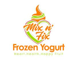 #352 for Logo: Mix n' Fix Yo or Mix n' Fix (Frozen Yogurt) brand. by fakefukra