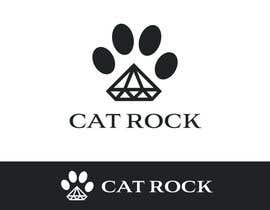 nº 7 pour Logo Design for cat rock par Jevangood