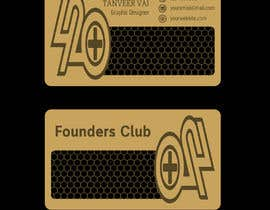#32 for Design an Awesome Metal Business Card! by tanveermh