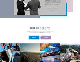 #43 Innovative civil engineering firm seeks a new modern website részére GenialStudio által