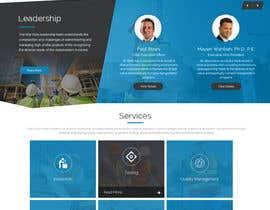 #6 Innovative civil engineering firm seeks a new modern website részére Webicules által