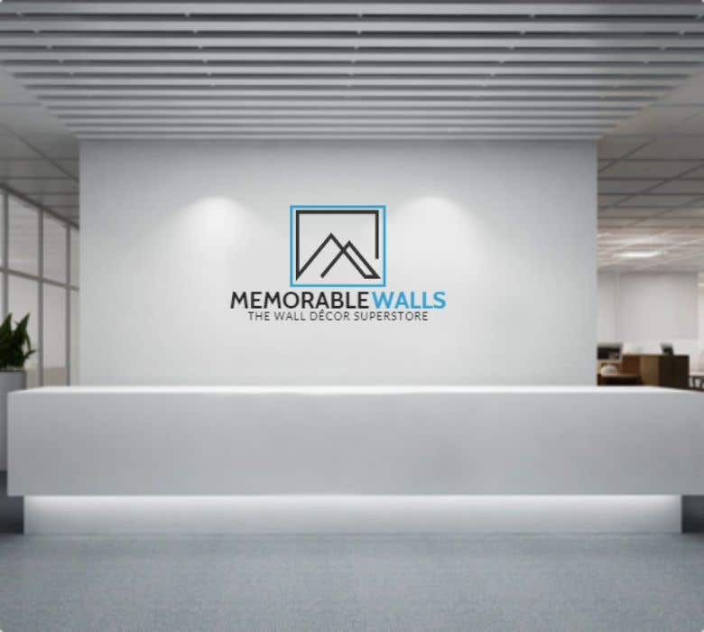 Entry #189 by fatinhalim for logo for wall art store | Freelancer