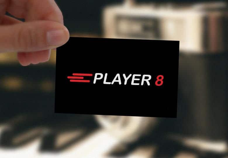 Konkurrenceindlæg #6 for Logo web y RRSS para sitio player8.cl