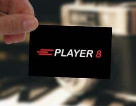 #6 for Logo web y RRSS para sitio player8.cl af aishaelsayed95
