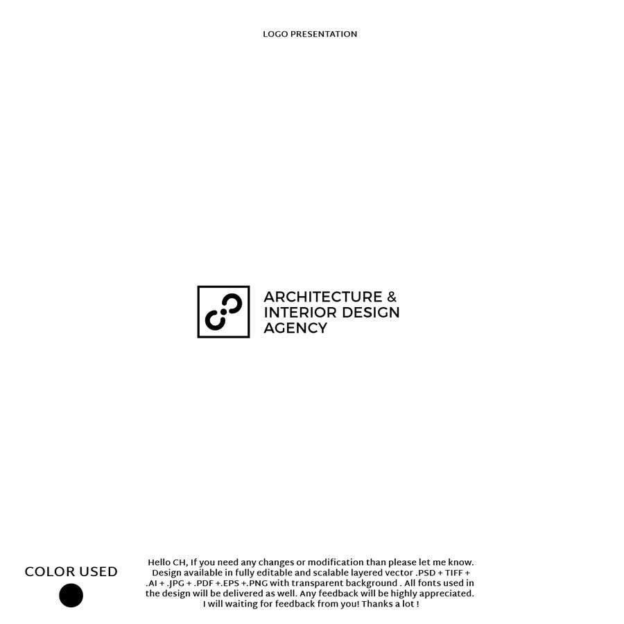 Entry #1443 by Haidderr for Design a logo for Architecture