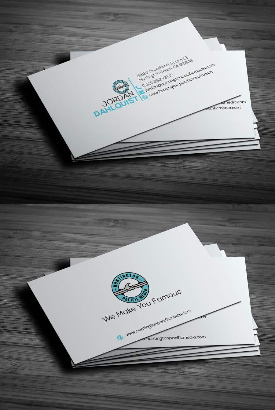 Entry #59 by CreativePalate for Business Card Design For
