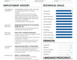 #4 cho I need a infographic cv/resume. bởi hkesolutions