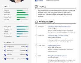 #6 cho I need a infographic cv/resume. bởi Decomex