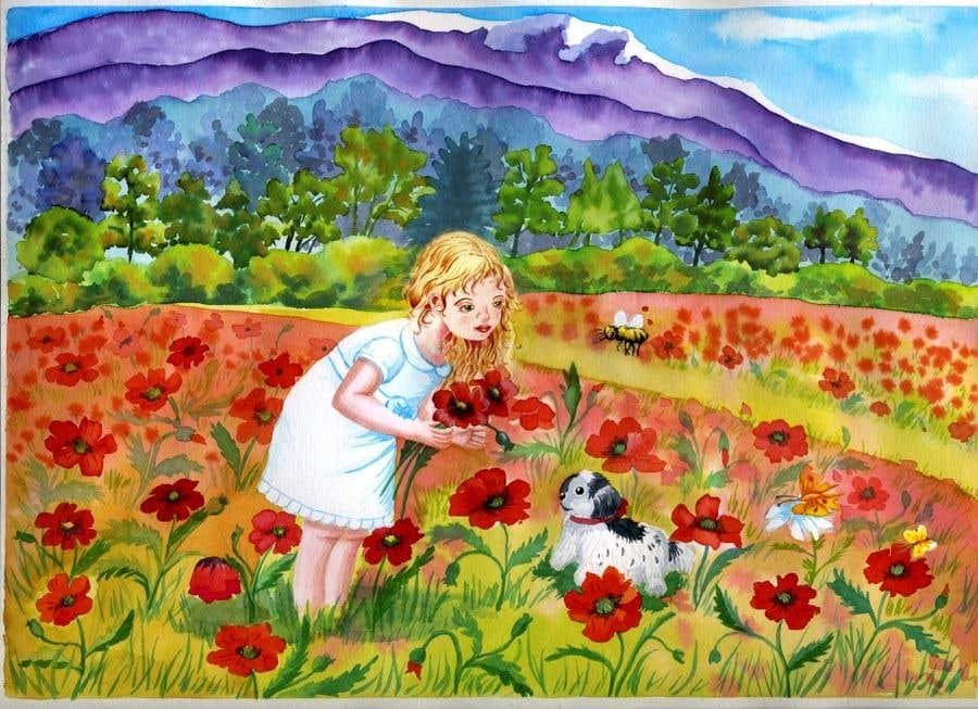 Bài tham dự cuộc thi #                                        25                                      cho                                         Illustrator for Children's book project