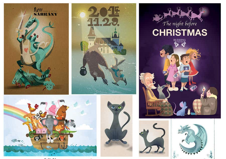 Bài tham dự cuộc thi #                                        50                                      cho                                         Illustrator for Children's book project