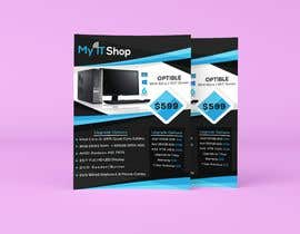 #3 for Create In Store Tabletop Flyer by AhmedZidan0
