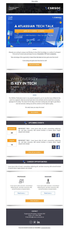 Конкурсная заявка №13 для Code up an HTML Email Template