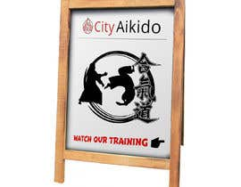 #5 cho Design a Sandwich Board Welcome Sign for an Aikido Dojo bởi satheeshkadangot