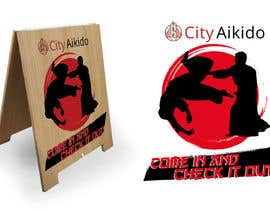 #31 cho Design a Sandwich Board Welcome Sign for an Aikido Dojo bởi norwinveliz