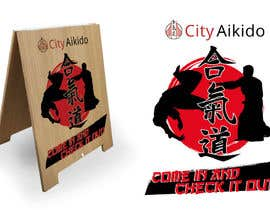 #33 cho Design a Sandwich Board Welcome Sign for an Aikido Dojo bởi norwinveliz