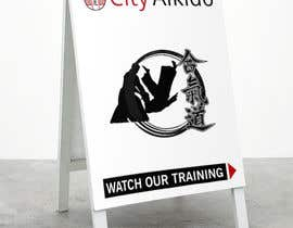 #1 cho Design a Sandwich Board Welcome Sign for an Aikido Dojo bởi EVINR